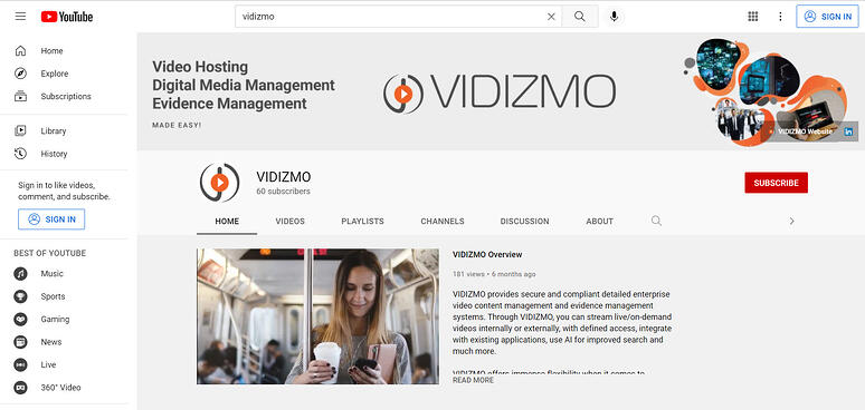 YouTube - Video Platform