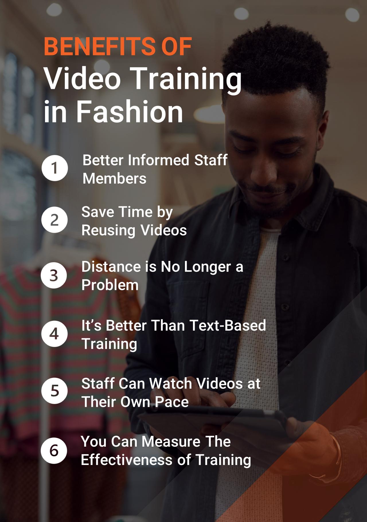 Benefits of Video Training of Fashion Retail Staff