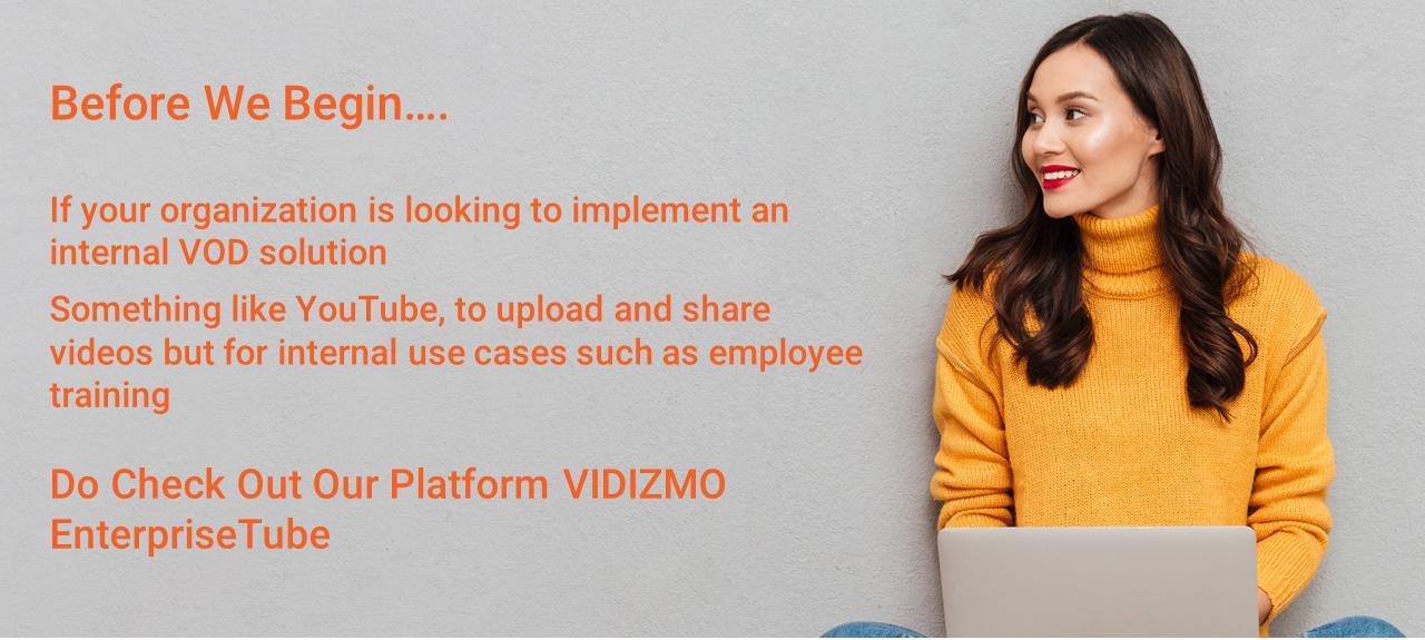 VIDIZMO VOD Platform