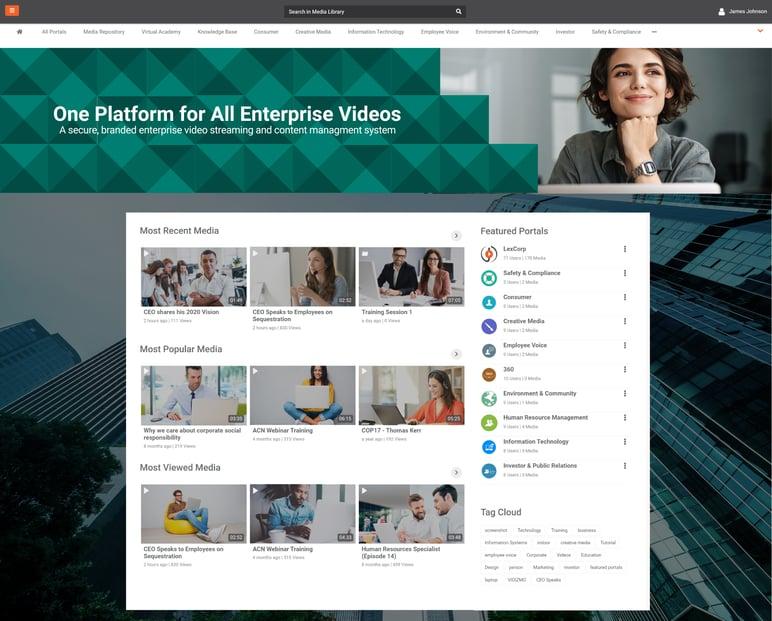 EnterpriseTube Screenshot