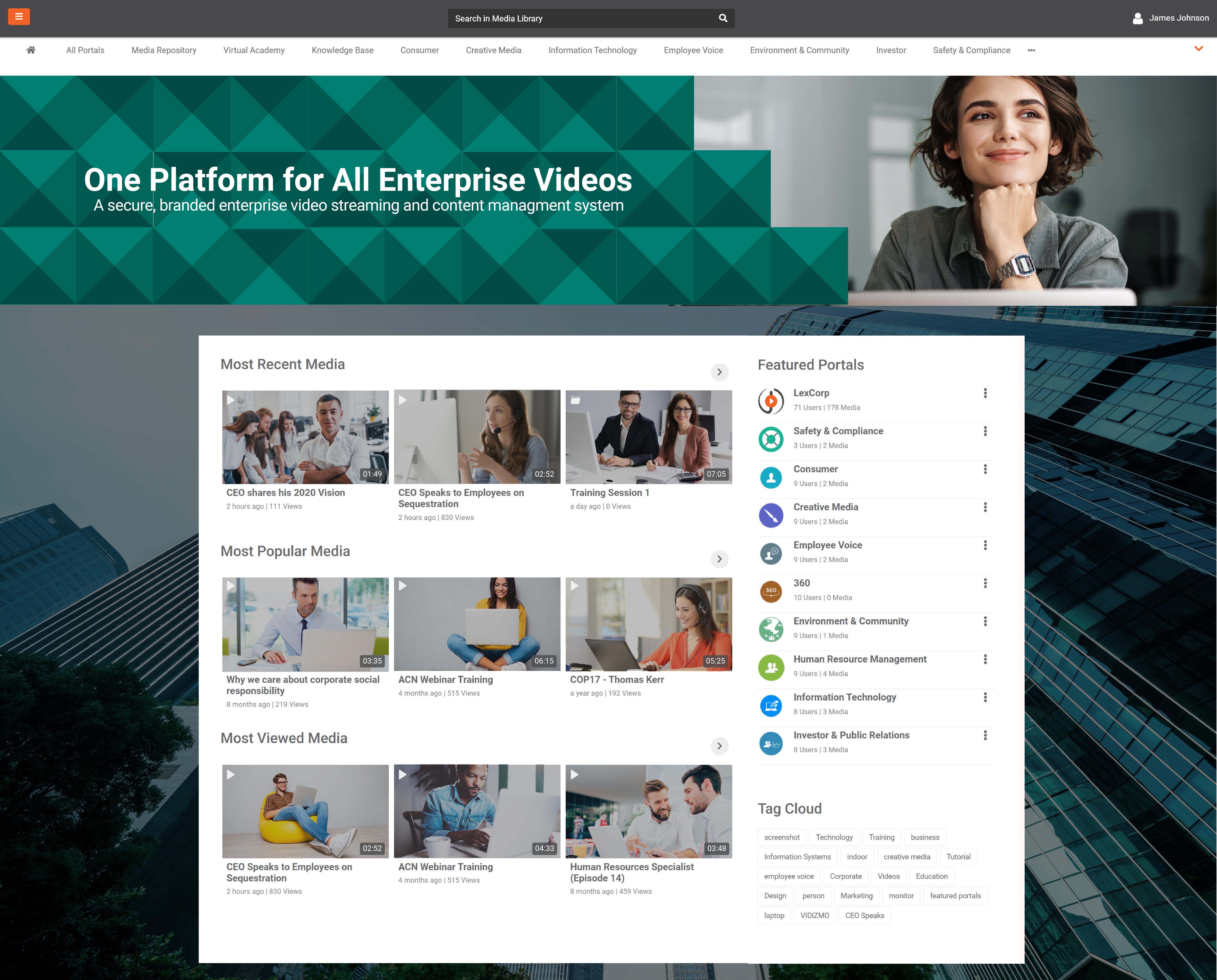 end to end brandable enterprise video platform - VIDIZMO