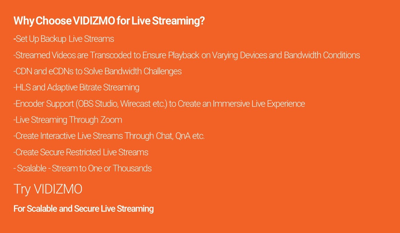 Live Streaming Infographic 2