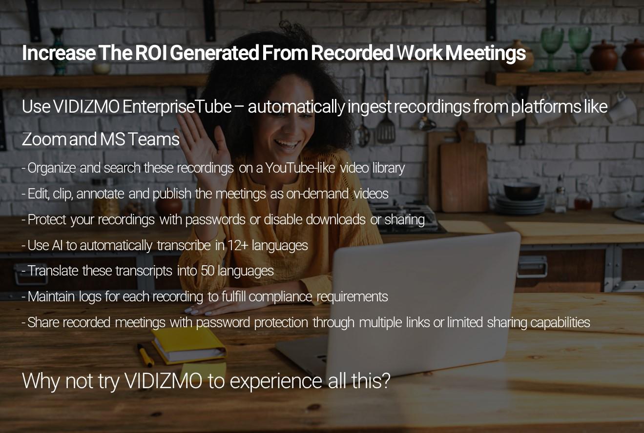Recording Work Meetings Infographic