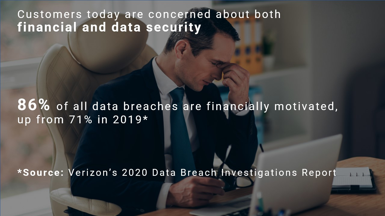 Bank security cameras and video conference tools record banking customers data