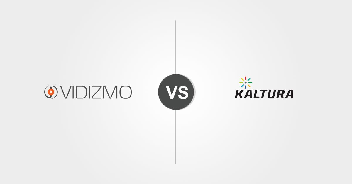 VIDIZMO vs. Kaltura: Comparing enterprise video platform capabilities