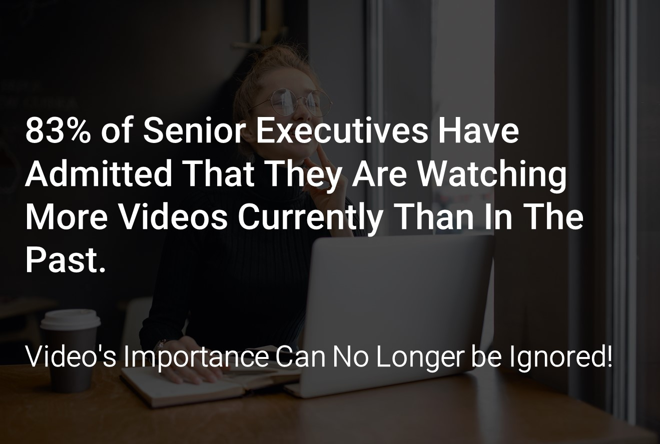 Video Importance Infographic (learn about the alternatives to panopto)