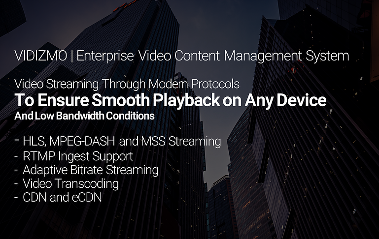 Video Protocols Infographic