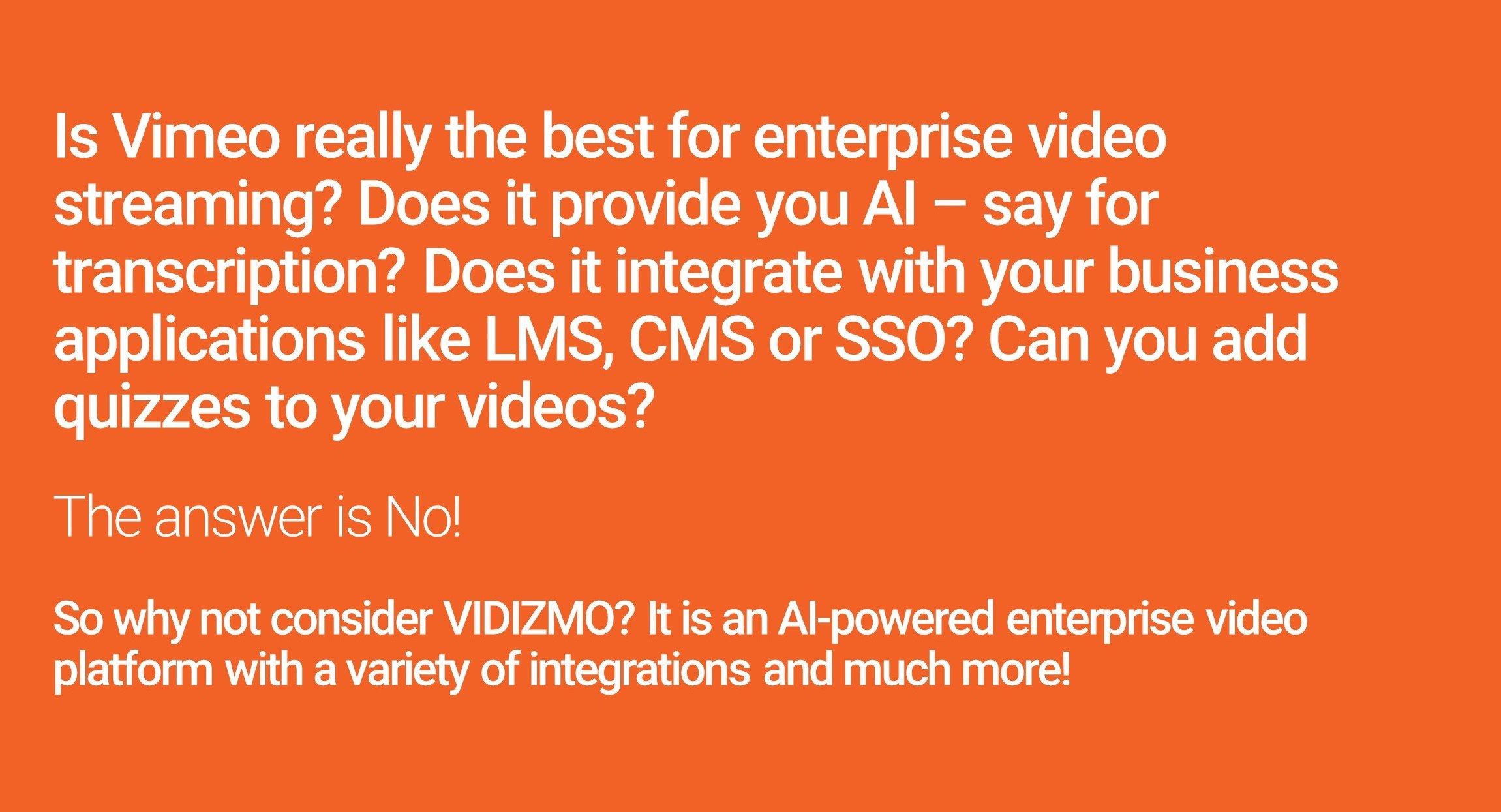Vimeo Infographic