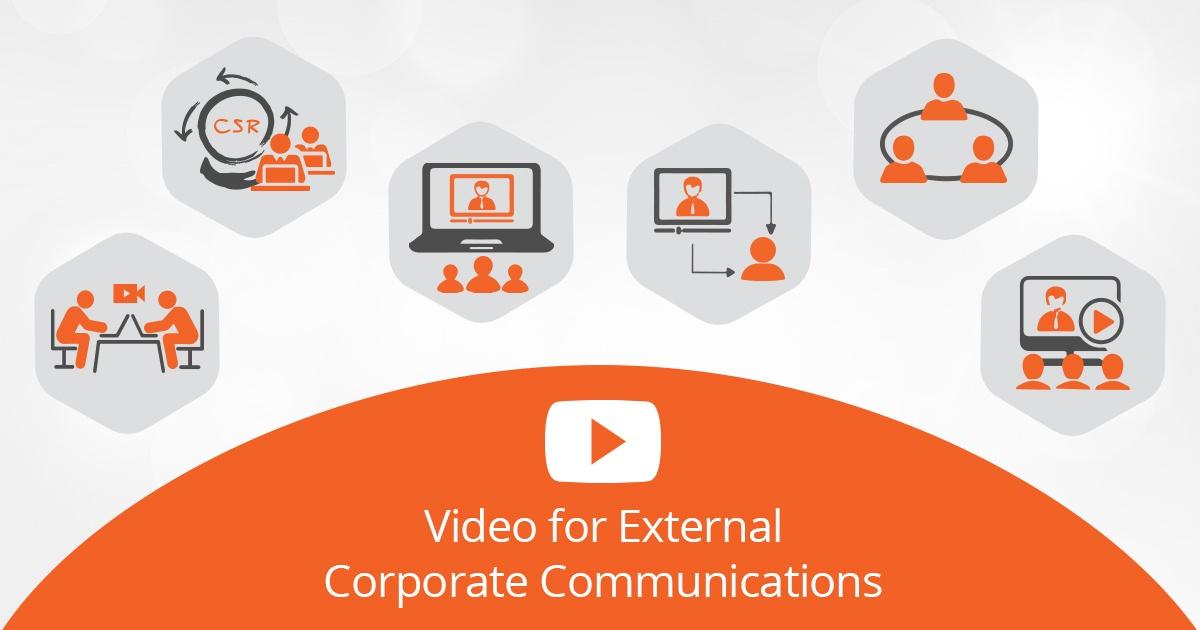 enterprise video for external corporate communication