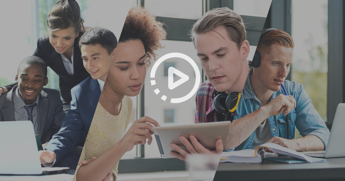 Engaging video content for employee training and development
