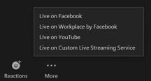 Zoom Live On Custom Live Streaming Service