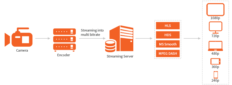 Adaptiv Bitrate Streaming (ABS) and HTTP Streaming Protocols