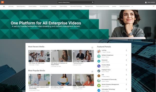 VIDIZMO EnterpriseTube (Panopto Alternative) end-to-end brandable enterprise video platform