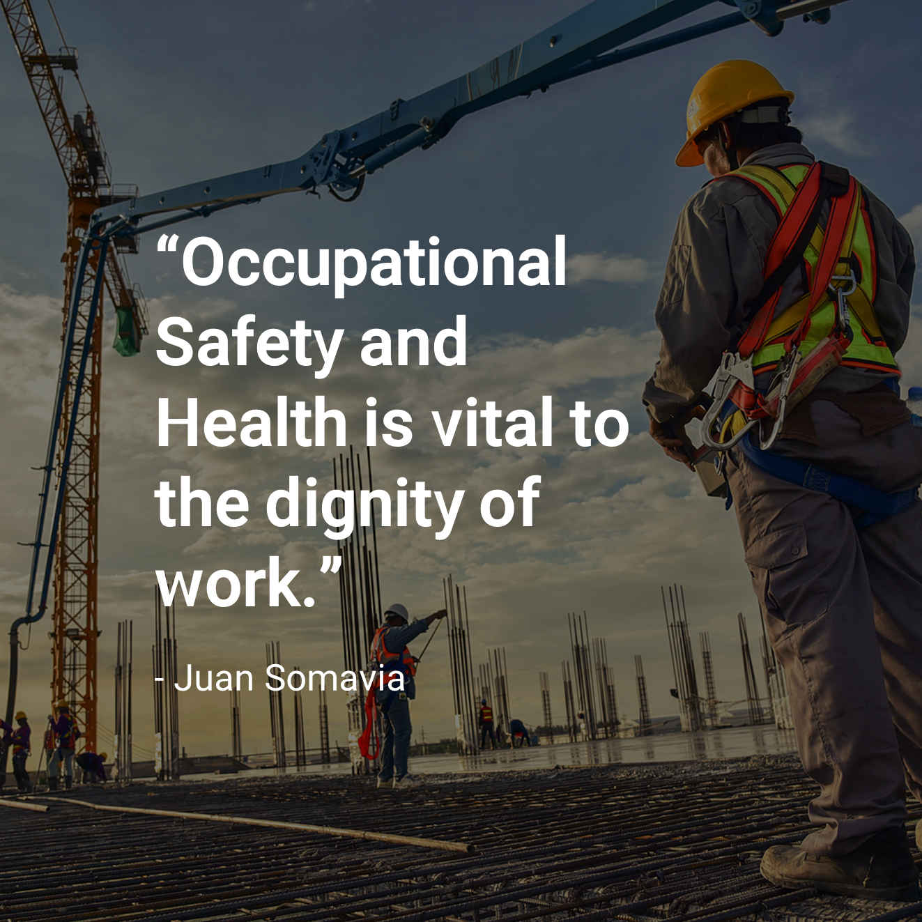 Health and safety quote