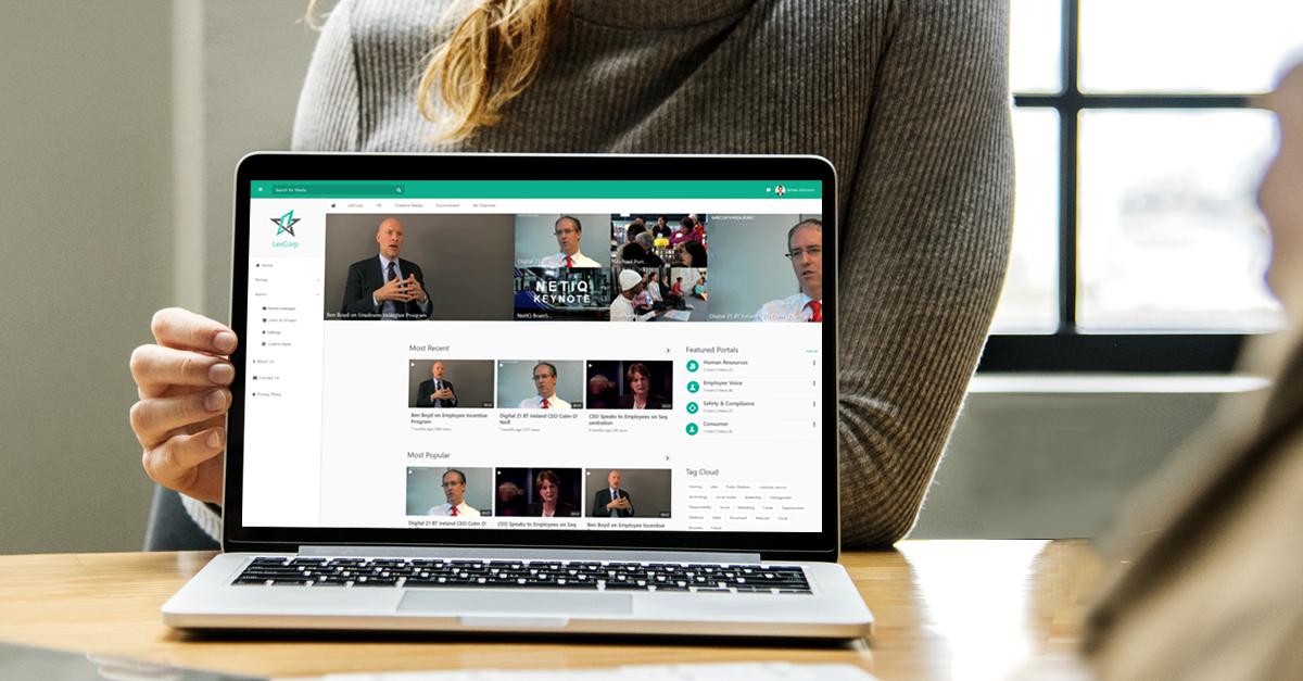 VIDIZMO custom brandable video portal