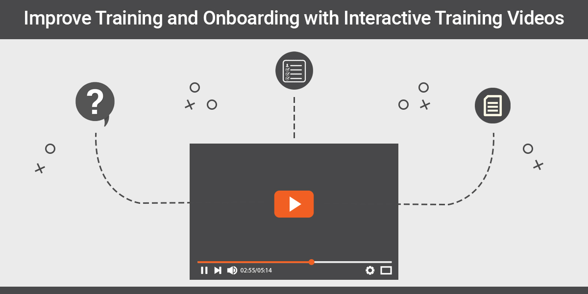 Improve Training and Onboarding with Interactive Training Videos